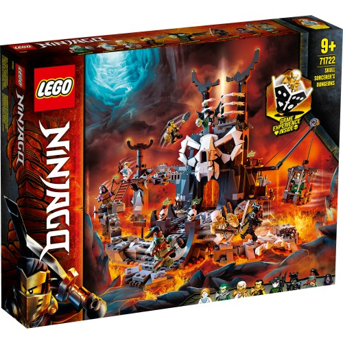 LEGO レゴ ニンジャゴー 魔界の砦 スカルジャイル 71722おもちゃ こども 子供 レゴ ブロック 9歳