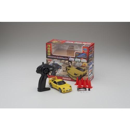 ファーストミニッツ 頭文字D マツダRX-7 FD3S 直営ストア 選択 おもちゃ 子供 ラジコン こども 6歳