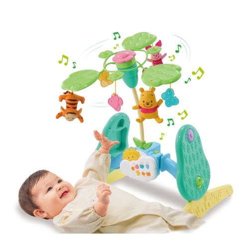開催中 くまのプーさん えらべる回転6WAYジムにへんしんメリー おもちゃ お値打ち価格で こども 子供 0歳 ベビー 勉強 知育