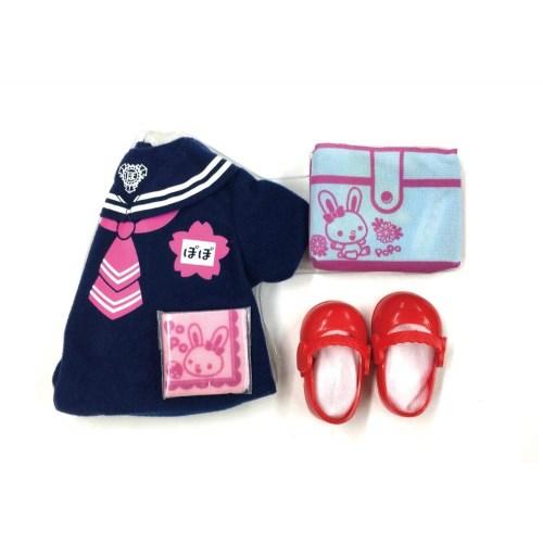 ぽぽちゃん ぽぽちゃん専用ぽぽちゃんも入園 幼稚園セット幼稚園小物つき おもちゃ こども 爆売りセール開催中 贈り物 女の子 子供 3歳 小物 人形遊び