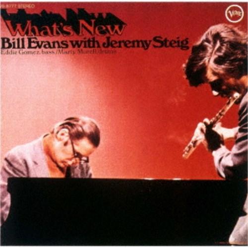 CD-OFFSALE ビル エヴァンス ウィズ ジェレミー 初回限定 スタイグ CD ホワッツ ニュー 予約販売 爆買い送料無料