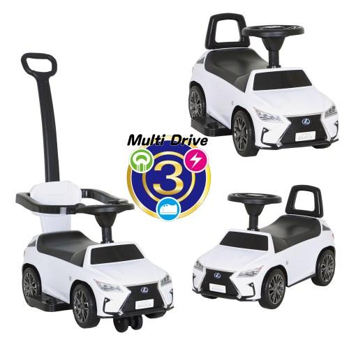 3in1 スリーインワン マルチドライブ3 レクサスRX450h F SPORT(ホワイト) S-RXWおもちゃ こども 子供 知育 勉強 0歳10ヶ月