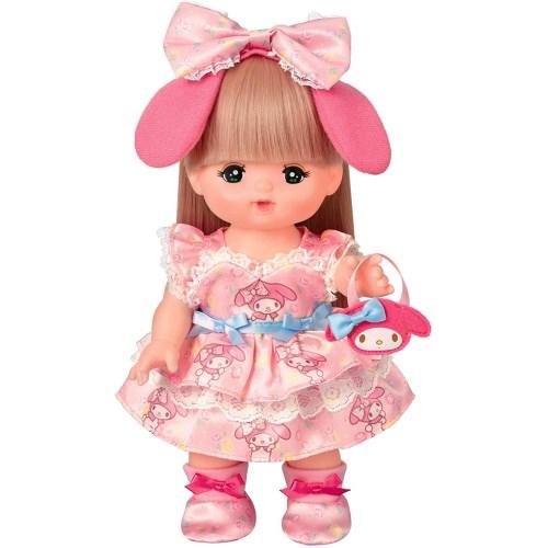 メルちゃん きせかえ マイメロディ プリティワンピおもちゃ こども 洋服 3歳 人形遊び 全商品オープニング価格 お気に入り 子供 女の子