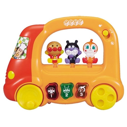 ベビラボ アンパンマン 店内限界値引き中 セルフラッピング無料 ころころメロディバス おもちゃ こども 驚きの値段 勉強 子供 知育 ベビー 1歳