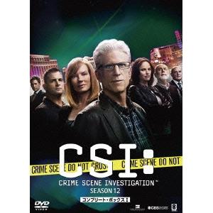 CSI:科学捜査班 シーズン12 コンプリートDVD BOX-I 【DVD】