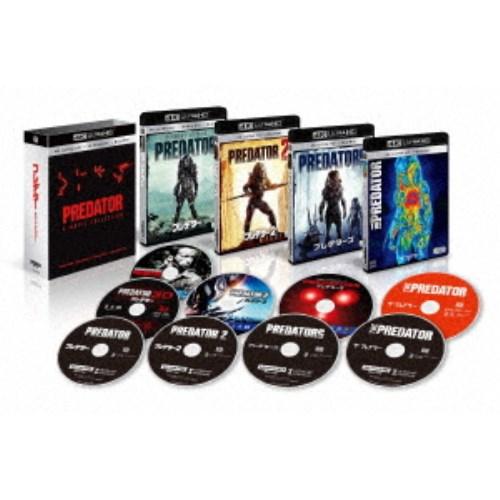 【送料無料】プレデター クアドリロジーBOX UltraHD 【Blu-ray】