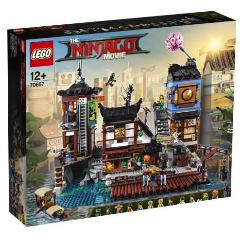 【送料無料】LEGO 70657 ニンジャゴー シティ・ポートパーク おもちゃ こども 子供 レゴ ブロック 12歳
