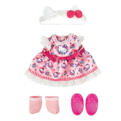 メルちゃん きせかえセット ハローキティ いちごワンピおもちゃ こども 子供 洋服 舗 3歳 低廉 女の子 人形遊び