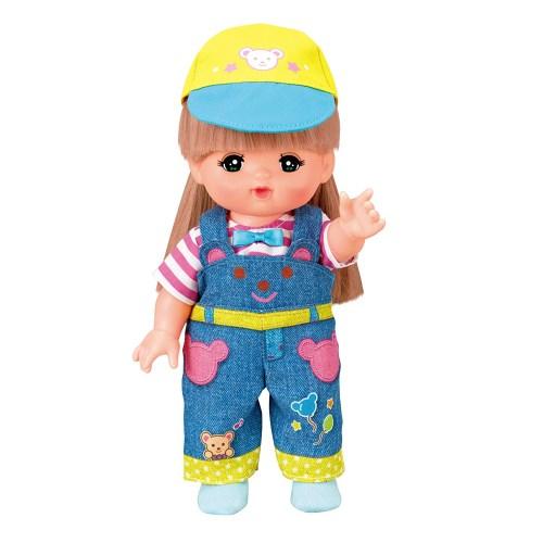 信用 メルちゃん きせかえセット くまさんオーバーオールおもちゃ こども 奉呈 子供 女の子 洋服 人形遊び 3歳