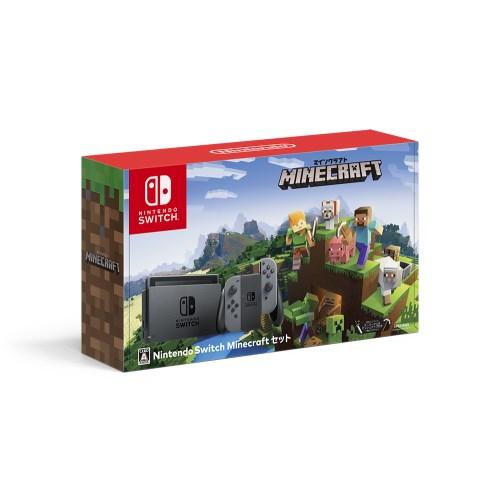 【送料無料】Nintendo Switch Minecraftセット