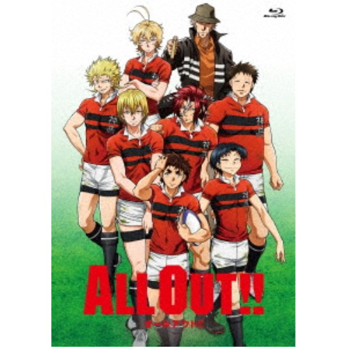 ALL OUT!! Blu-ray BOX 【Blu-ray】