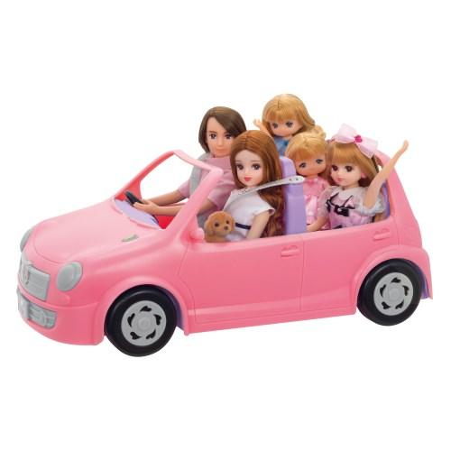リカちゃん LF-04 みんなでおでかけ ファミリーカーおもちゃ こども 返品不可 女の子 小物 子供 出群 人形遊び