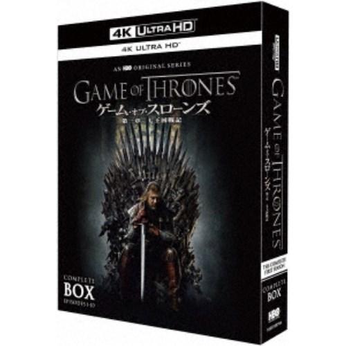 ゲーム・オブ・スローンズ 第一章:七王国戦記 コンプリート・ボックス UltraHD《数量限定生産版》 (初回限定) 【Blu-ray】