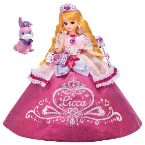 リカちゃん 送料無料(一部地域を除く) ゆめみるお姫さま ファンシーピンクリカちゃんおもちゃ こども 人形遊び 子供 女の子 《週末限定タイムセール》 3歳