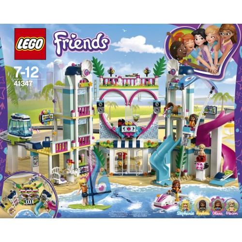 ラッピング対応可◆LEGO 41347 フレンズ ハートレイクシティ リゾート クリスマスプレゼント おもちゃ こども 子供 レゴ ブロック 7歳