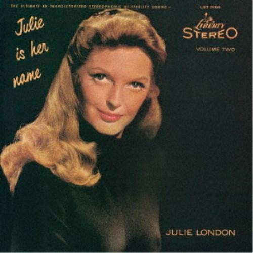 ジュリー ロンドン 無料 彼女の名はジュリー Vol.2 新色追加して再販 CD 初回限定