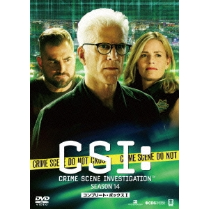 CSI:科学捜査班 シーズン14 コンプリートDVD BOX-I 【DVD】