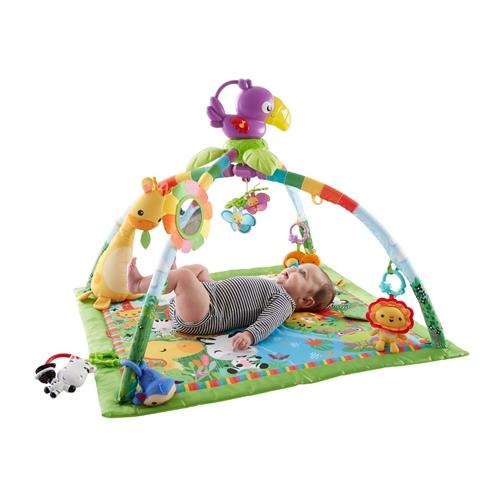 フィッシャープライス レインフォレスト デラックスジム II NEW ARRIVAL 代引き不可 おもちゃ こども 勉強 0歳 ベビー 知育 子供