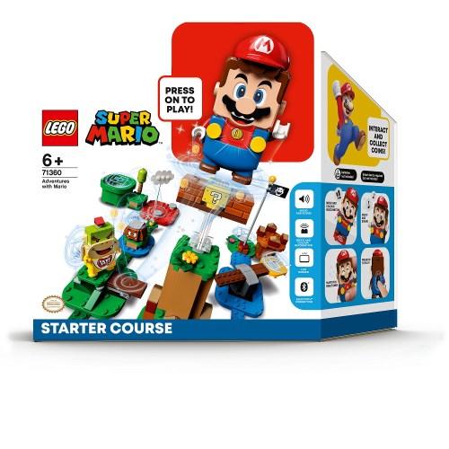LEGO レゴ マリオ と 開催中 ぼうけんのはじまり スターターセット こども 迅速な対応で商品をお届け致します 子供 71360おもちゃ ブロック 6歳