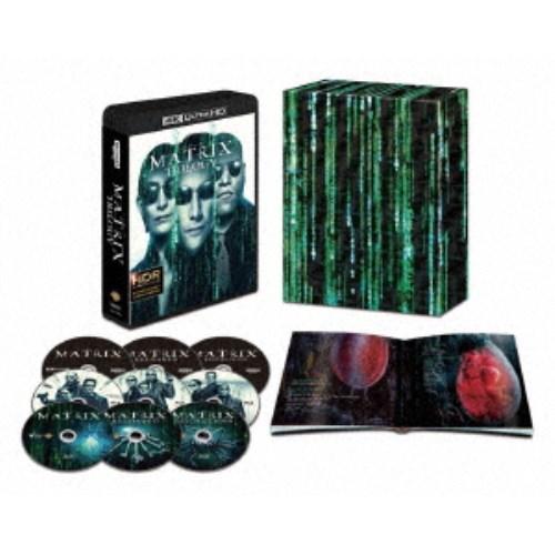 【送料無料】マトリックス トリロジー 日本語吹替音声追加収録版 UltraHD (初回限定) 【Blu-ray】