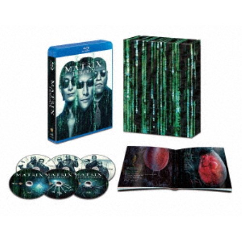 【送料無料】マトリックス トリロジー HDデジタル・リマスター&日本語吹替音声追加収録版 (初回限定) 【Blu-ray】