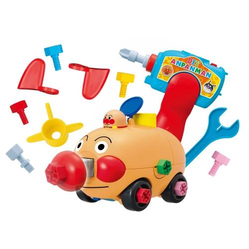くみたてDIY 定価の67%OFF とびだせノーズパンチ ねじねじアンパンマンごうおもちゃ こども 売れ筋ランキング 子供 知育 勉強 3歳