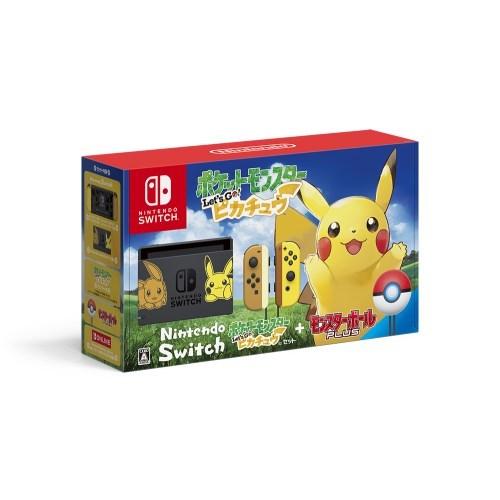 【送料無料】Nintendo Switch ポケットモンスター Let's Go! ピカチュウセット(モンスターボール Plus付き)