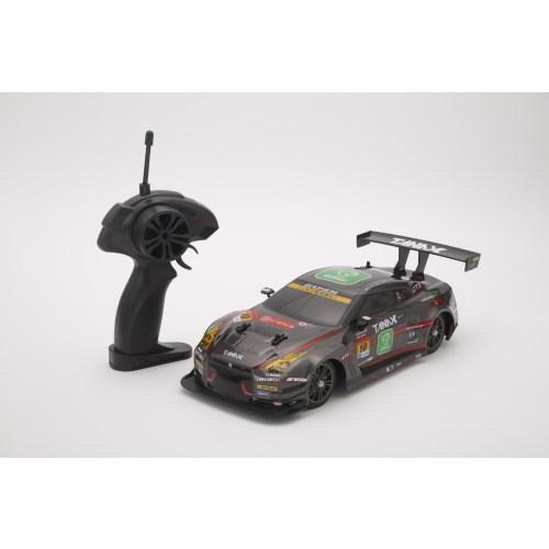 16sc Drift 実物 Racing GAINER TANAXX GT-R 4WD 子供 黒 ラジコン 6歳 おもちゃ 爆買い送料無料 こども
