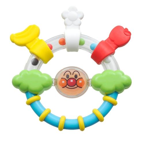 ベビラボ アンパンマン NEWはじめてのはがためラトル おもちゃ こども 子供 知育 勉強 ベビー 0歳3ヶ月