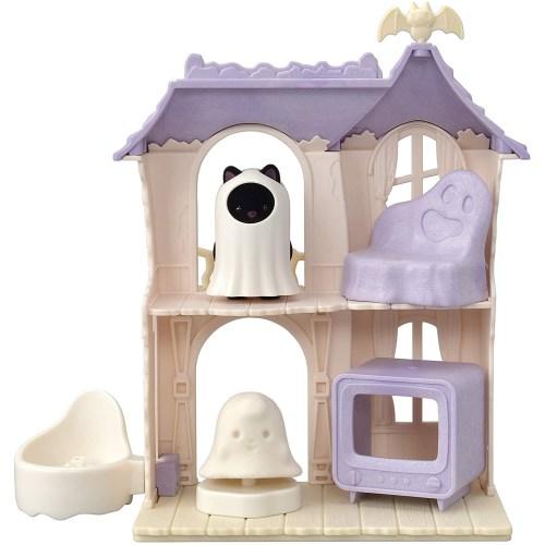 シルバニアファミリー 激安特価品 コ-67 どきどきホーンテッドハウスセットおもちゃ こども 子供 小物 女の子 3歳 セール 登場から人気沸騰 人形遊び