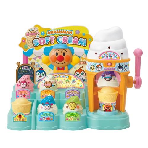 くるんとポン おしゃべりフレーバー アンパンマンのソフトクリームやさんおもちゃ こども 勉強 直営ストア NEW売り切れる前に☆ 3歳 子供 知育