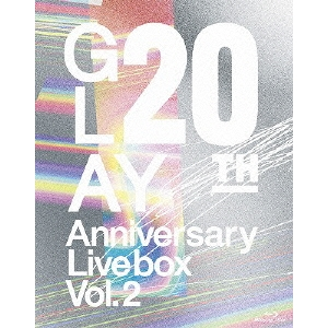 【送料無料】GLAY/20th Anniversary LIVE BOX VOL.2 【Blu-ray】