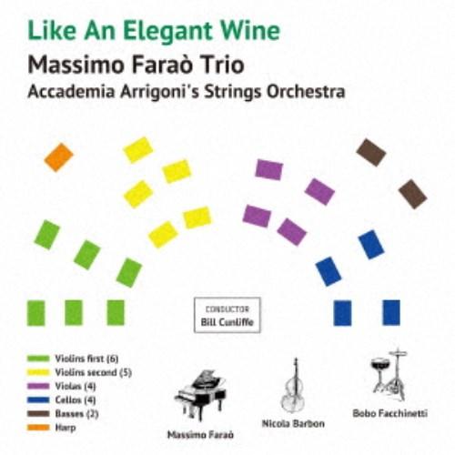 CD-OFFSALE 特価品コーナー☆ マッシモ ファラオ トリオ ウィズ オーケストラ CD 新作入荷!! ストリングス エレガントなワインのように