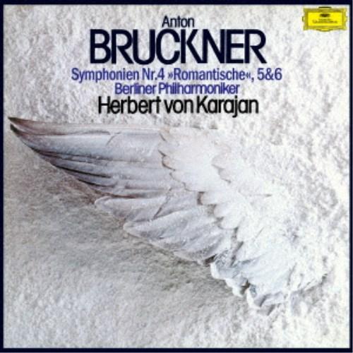 ヘルベルト・フォン・カラヤン/ブルックナー:交響曲第4番≪ロマンティック≫ 第5番・第6番 (初回限定) 【CD】