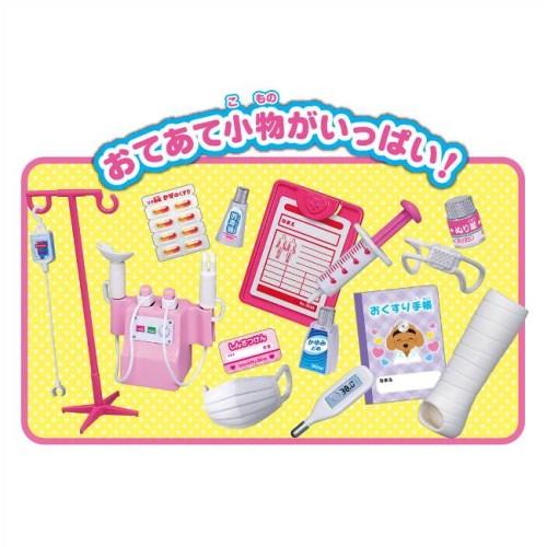 リカちゃん ドキドキちょうしんき!リカちゃん病院  おもちゃ こども 子供 女の子 人形遊び ハウス 3歳