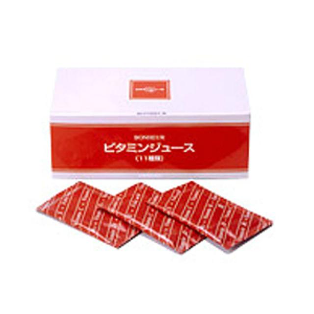 ビタミンジュース 10g 30包 12個セット ファミリーパック ニチニチ製薬 11種類のビタミン配合 サプリメント