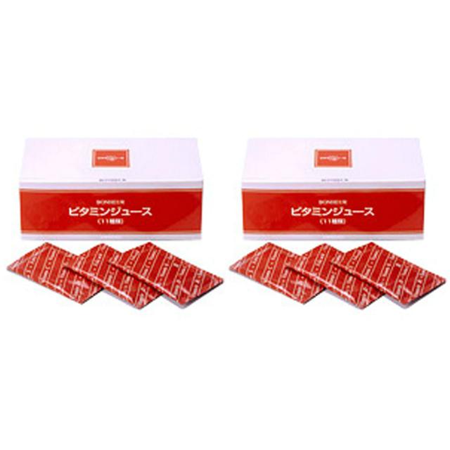 ニチニチ製薬 11種類のビタミン配合 サプリメント ビタミンジュース 10g 30包 2個セット