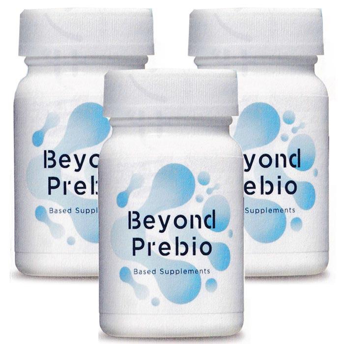 ビヨンド・プレバイオ Beyond Prebio 300mg 100粒 3個セット プレバイオティクスサプリメント フローラ・ハウス
