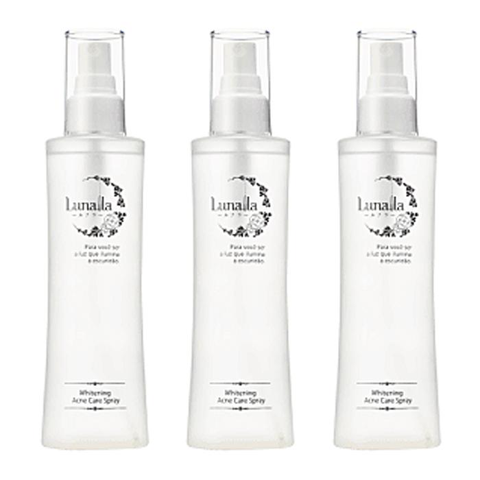 Lunalla ルナラ ホワイトニングアクネケアスプレー 全身用化粧水 200ml 医薬部外品 3個セット