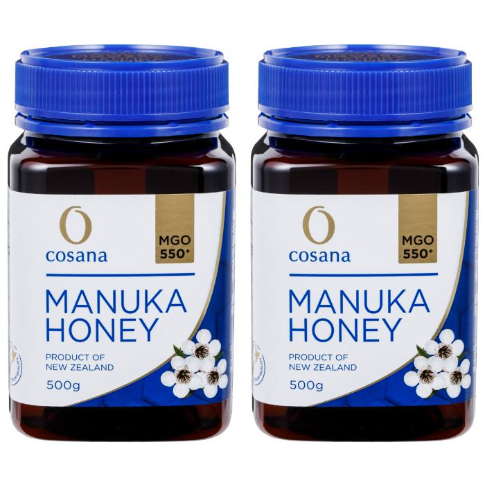 マヌカハニー MGO550+ 500g 2個セット cosana コサナ ニュージーランド産はちみつ