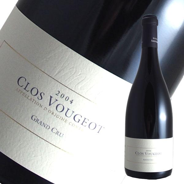 クロ ド ヴージョ特級[2004]アミオ セルヴェル(赤ワイン ブルゴーニュ フルボディ ピノノワール)