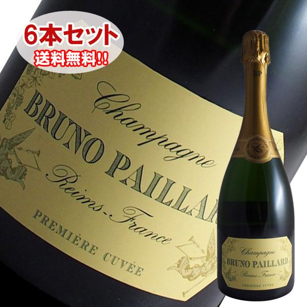 【送料無料】6本セット エクストラ ブリュット プルミエール キュヴェ[N.V]ブルーノパイヤール(シャンパン スパークリングワイン)