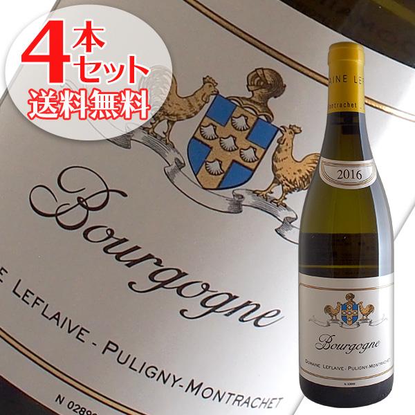 【送料無料】4本セット ブルゴーニュ ブラン[2016]ルフレーヴ(白ワイン ブルゴーニュ)