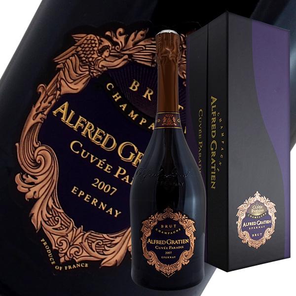 キュヴェ パラディ ブリュット[2007]アルフレッド グラシアン(シャンパン)【ギフトボックス】