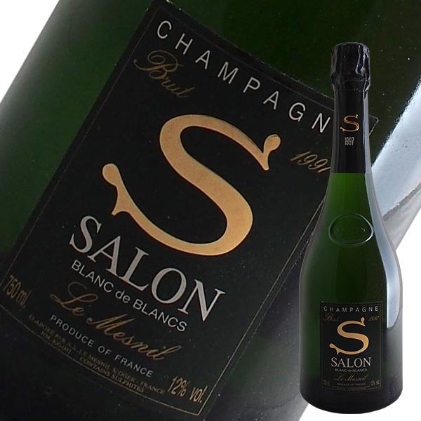 サロン ブラン ド ブラン[1997]サロン(シャンパン)【箱無し】【並行品】【定温コンテナ輸入】