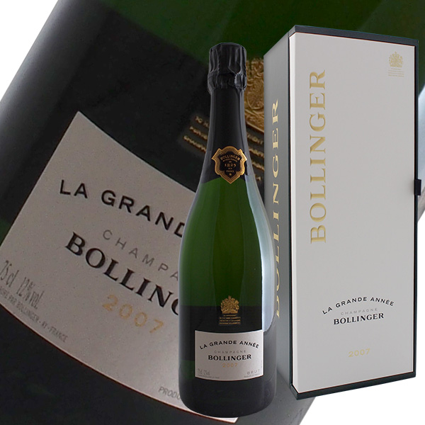 並行 2007 グランダネ 【あす楽】 750ml 箱付 ボランジェ ラ シャンパーニュ シャンパン フランス 【よりどり6本以上送料無料】