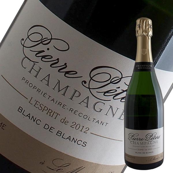 【送料無料】3本セット キュヴェ ミレジメ レスプリ ド ブラン ド ブラン[2012]ピエール ペテルス(シャンパン)