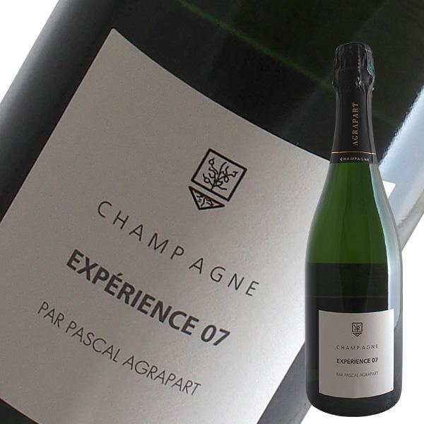 エクスペリエンス07ブリュット ブラン ド ブラン グランクリュ[N.V]アグラパール(シャンパン)