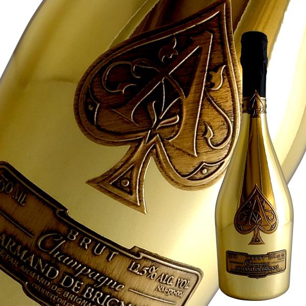 アルマン ド ブリニャック ブリュット(ゴールド)[N.V]アルマン ド ブリニャック(シャンパン)【箱無し】