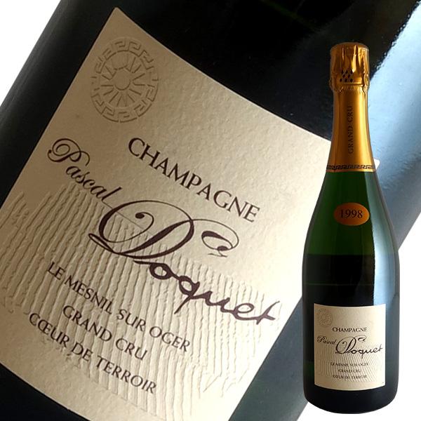パスカル ドケ ル メニル シュール オジェ 1998 クリュ シャンパン 激安通販販売 最安値挑戦 グラン EXブリュット